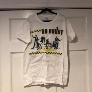 NO DOUBT Vintage Summer 2009 Tour Tee Size Small